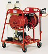 4100 Portable Deionization Cart Washer